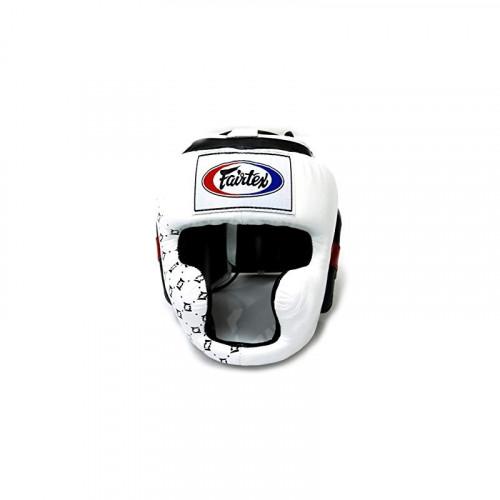 Casque Fairtex intégral HG10 Blanc