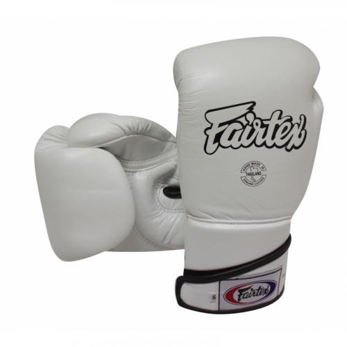 Gants d'entrainement Fairtex FXBGV6 Blanc 10,12,14,16,18OZ