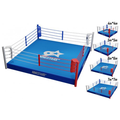 Ring de boxe sur plateforme