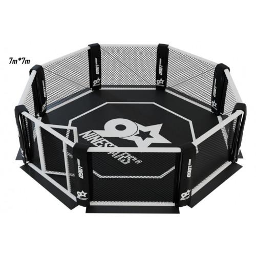 Cage de MMA à plat