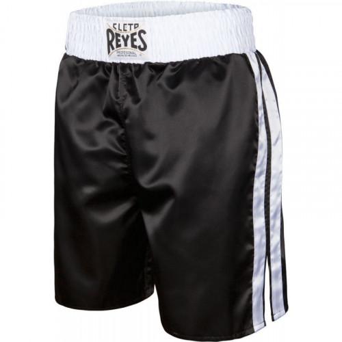 Short de boxe Anglaise Noir/Blanc - Reyes