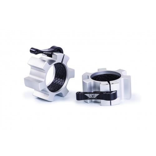 Colliers de serrage musculation aluminium professionnel Gris ø51mm